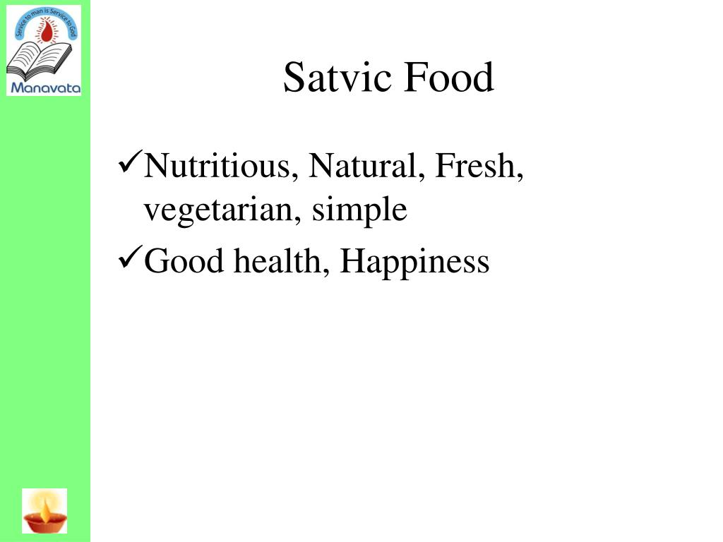 Satvic Food