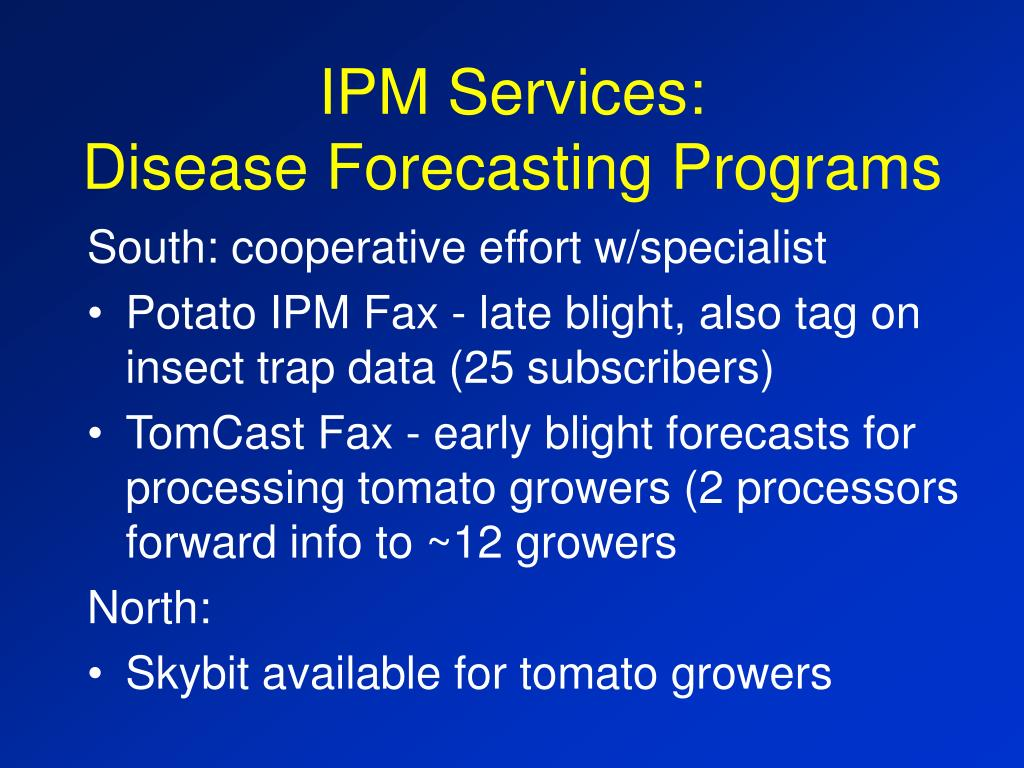 IPM Services: