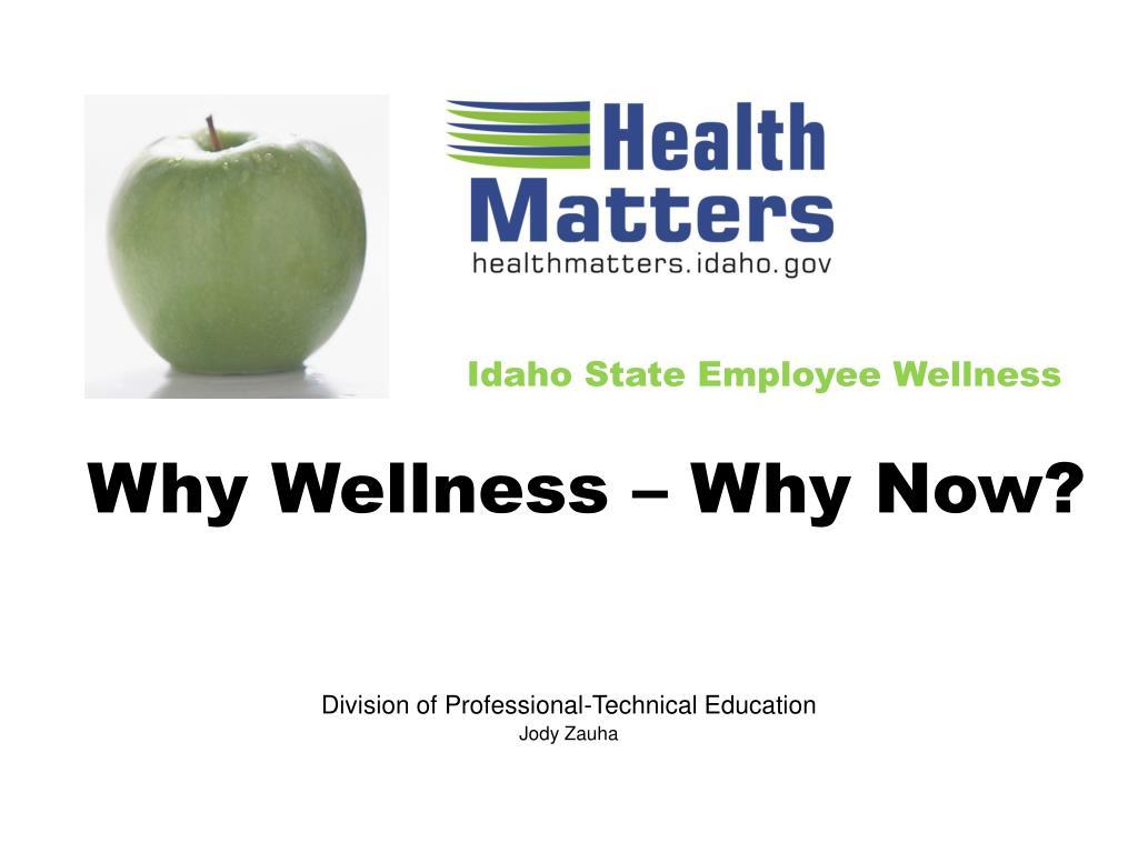 Idaho State Employee Wellness