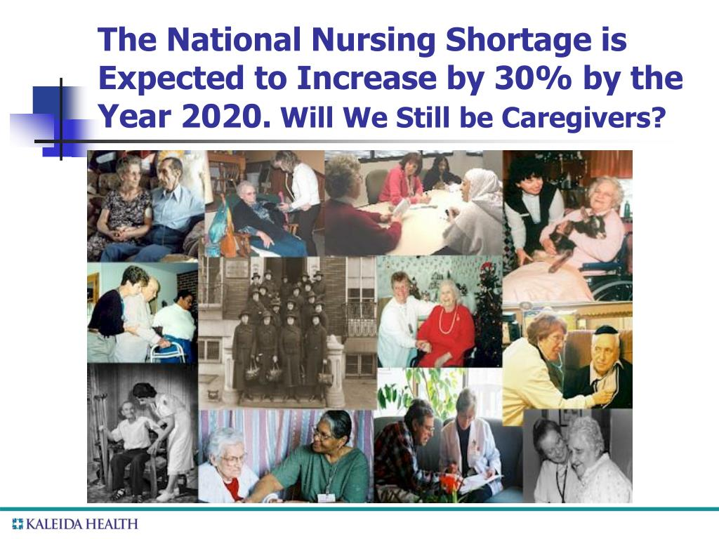 The National Nursing Shortage is Expected to Increase by 30% by the Year 2020.