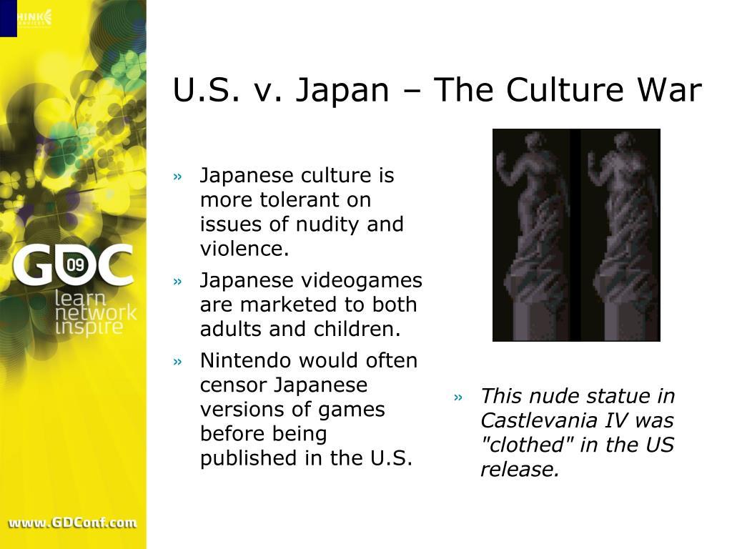 U.S. v. Japan – The Culture War