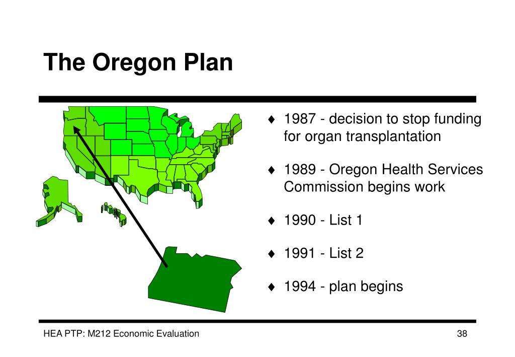 The Oregon Plan