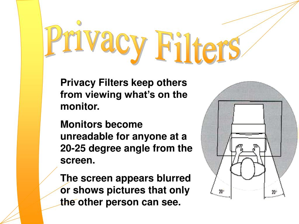Privacy Filters