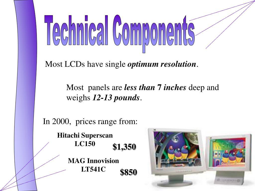Hitachi Superscan LC150