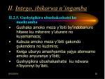 ii intego ibikorwa n ingamba25