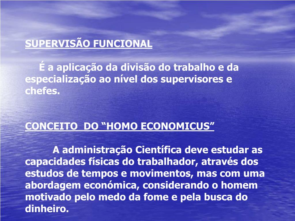 SUPERVISÃO FUNCIONAL