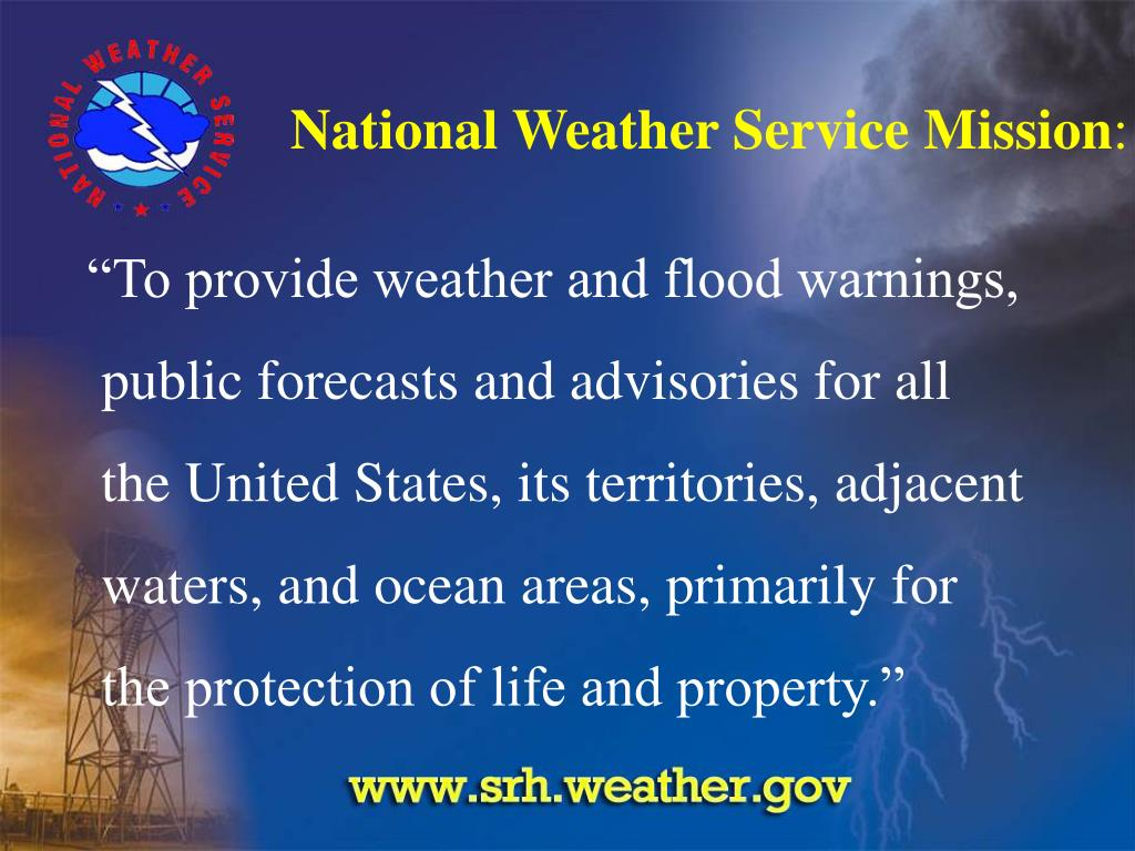 National Weather Service Mission