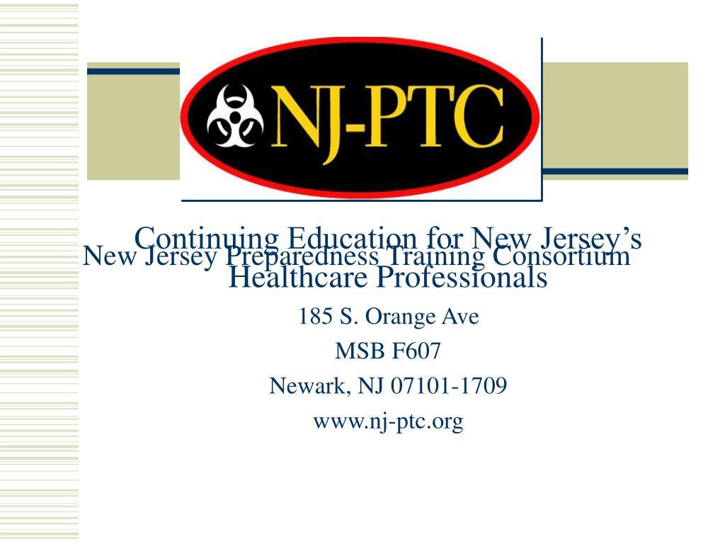 New Jersey Preparedness Training Consortium