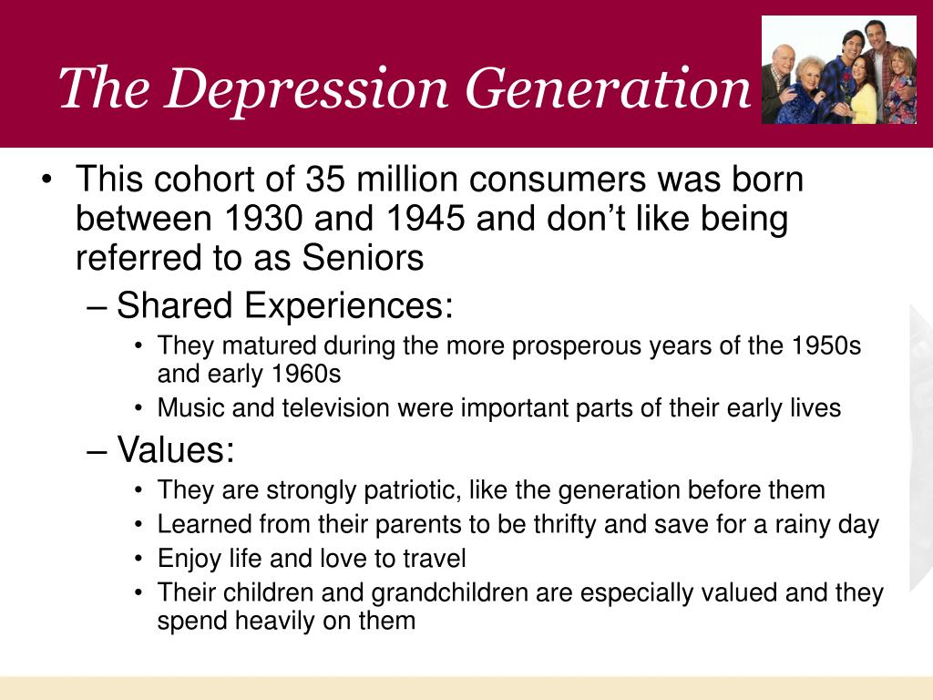 The Depression Generation