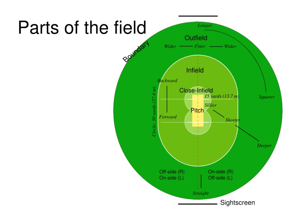 Parts of the field