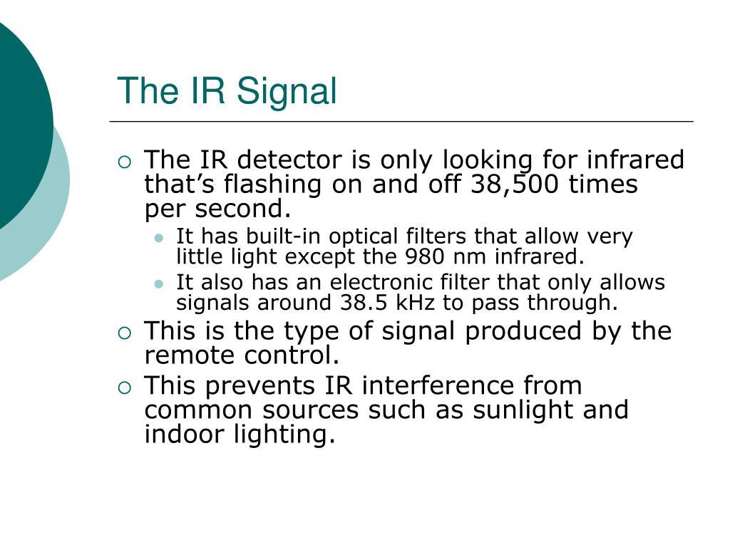 The IR Signal