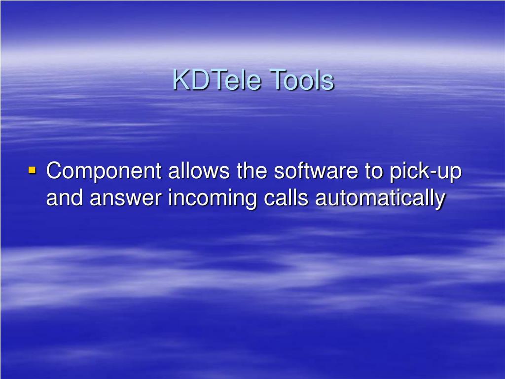 KDTele Tools