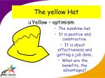the yellow hat