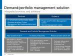 demand portfolio management solution