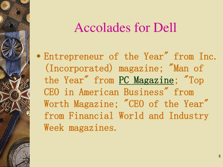 Accolades for Dell