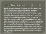 effective august 1 2011 cont