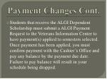 payment changes cont11