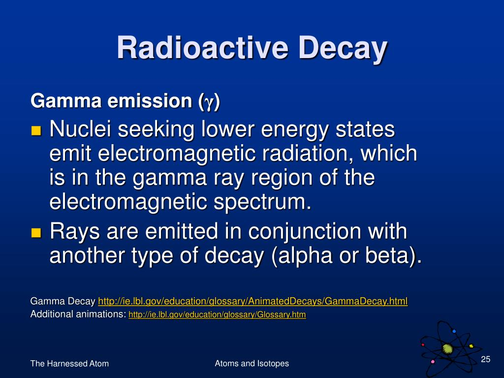 Gamma emission (