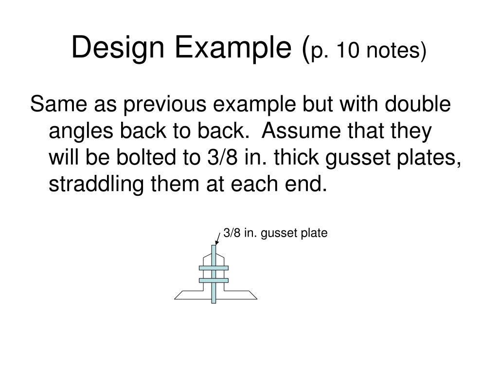 Design Example (