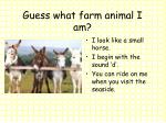 guess what farm animal i am7