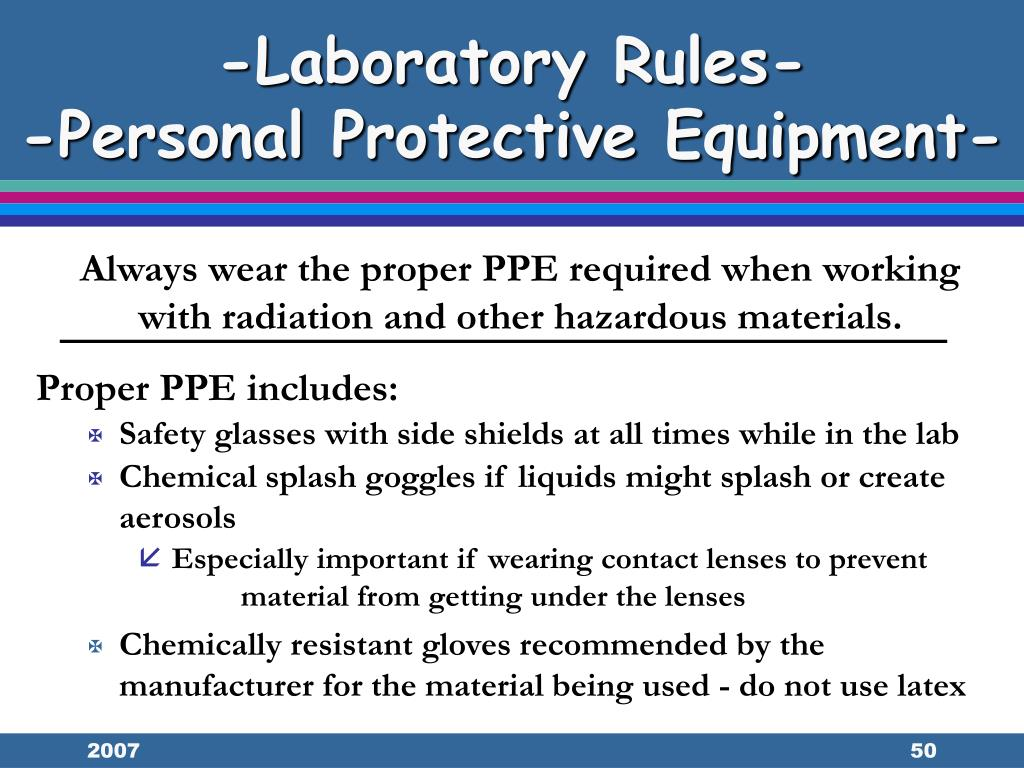 -Laboratory Rules-