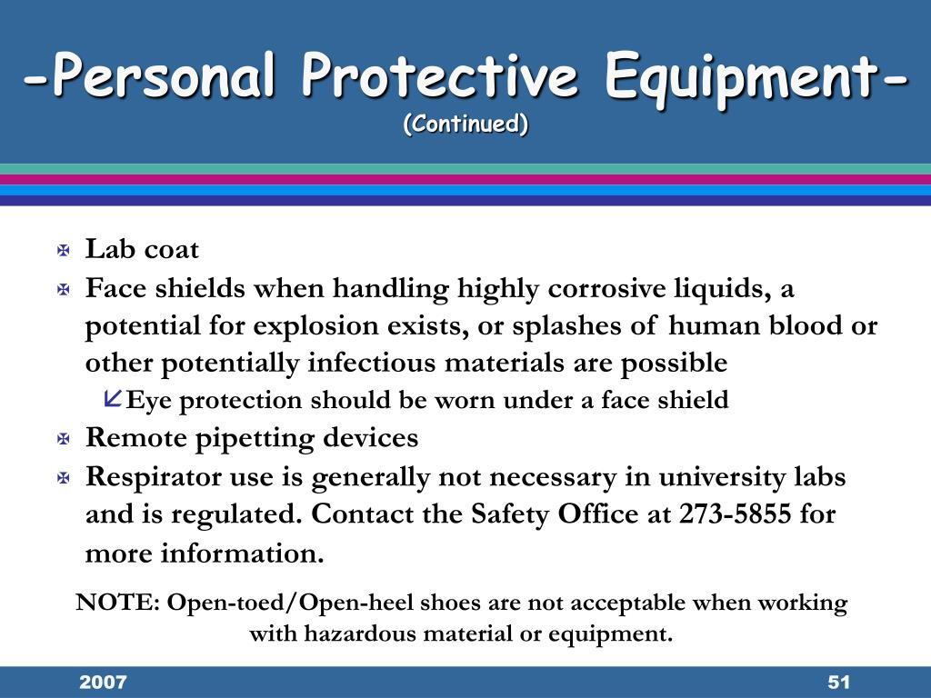 -Personal Protective Equipment-