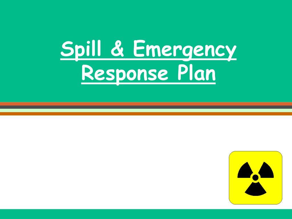 Spill & Emergency