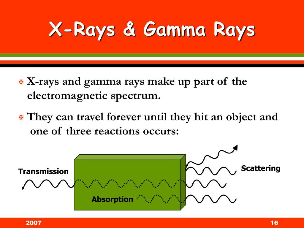 X-Rays & Gamma Rays