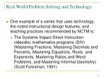 real world problem solving and technology18