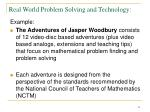 real world problem solving and technology21
