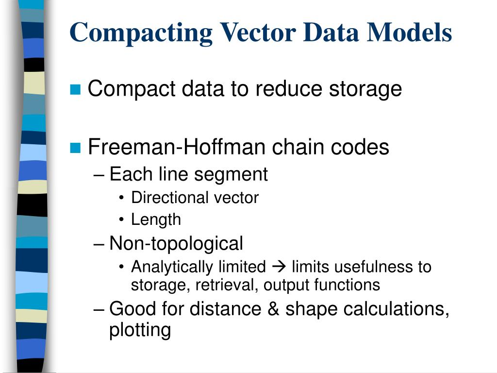 Compacting Vector Data Models