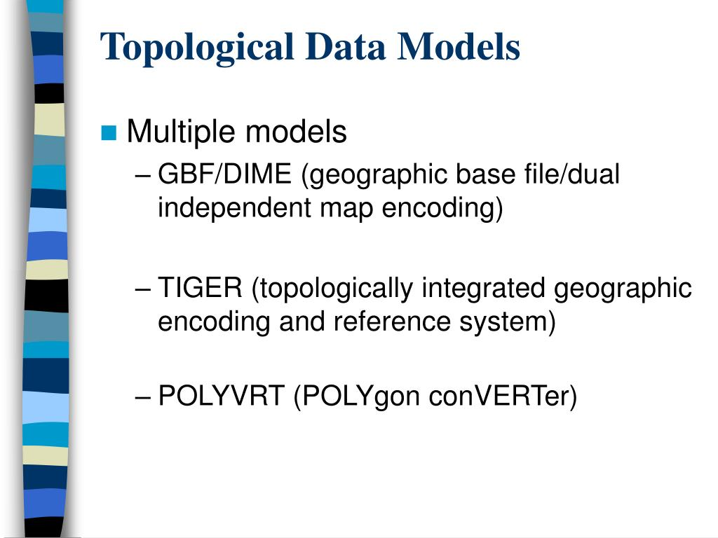 Topological Data Models