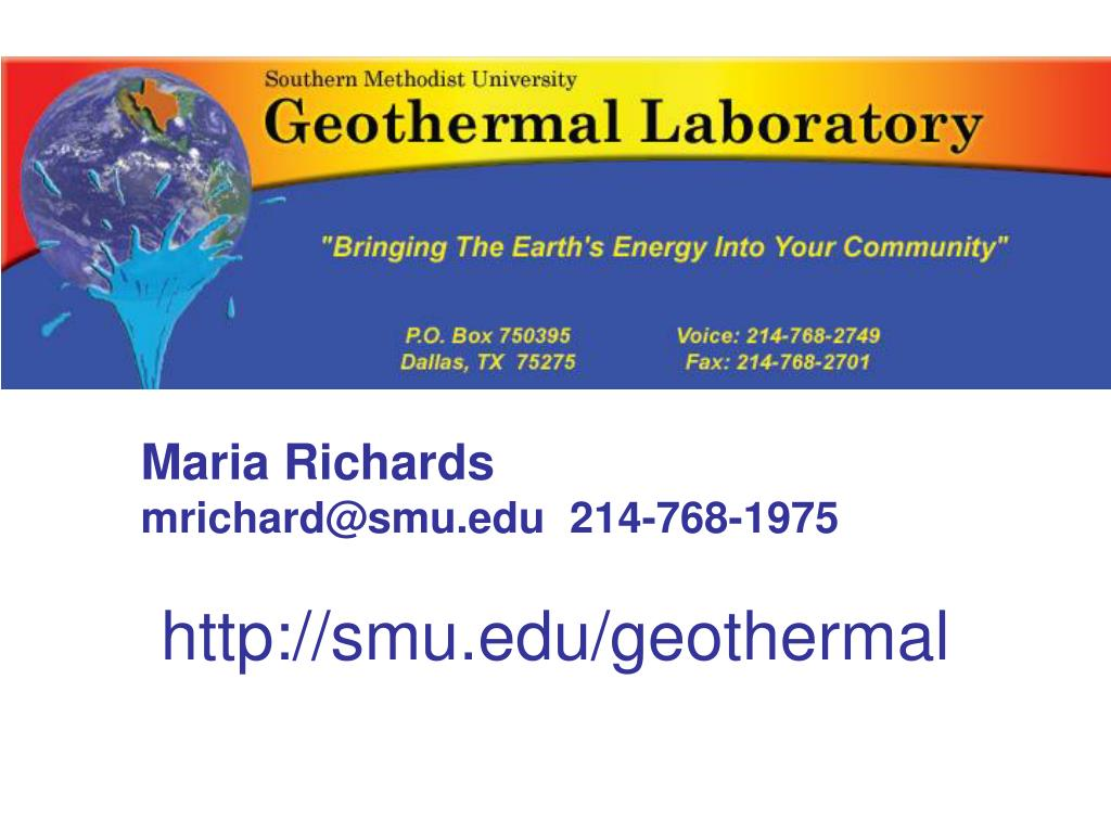 http://smu.edu/geothermal