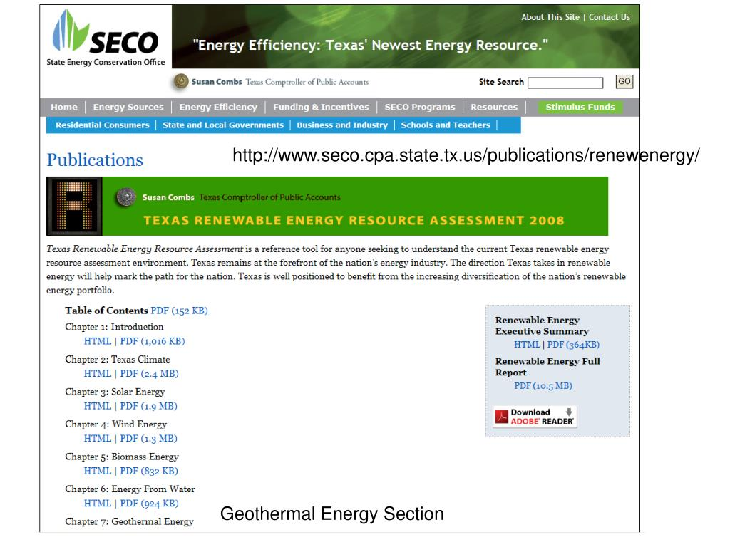 http://www.seco.cpa.state.tx.us/publications/renewenergy/