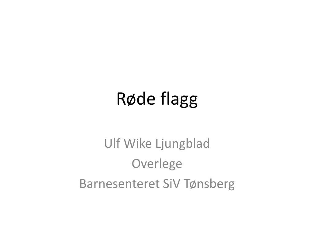 Røde flagg