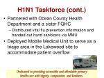 h1n1 taskforce cont