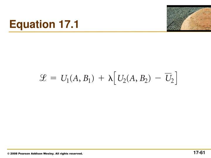 Equation 17.1