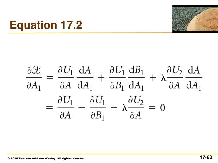 Equation 17.2