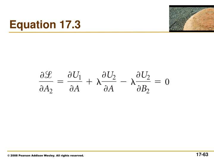 Equation 17.3