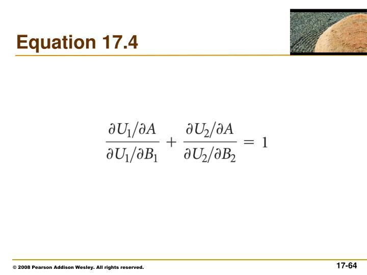 Equation 17.4
