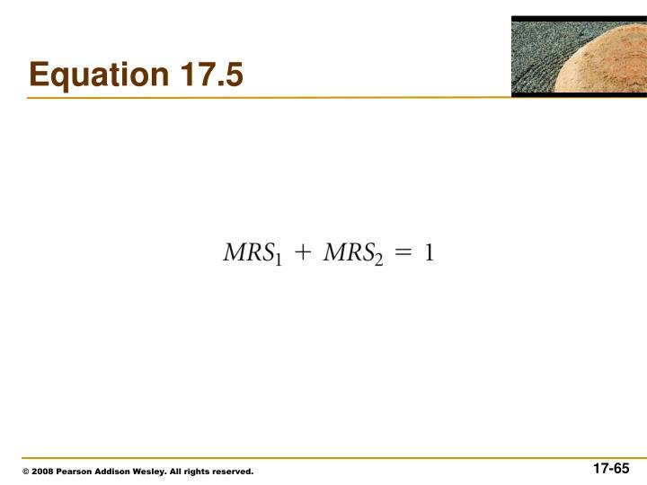 Equation 17.5