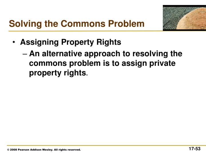 Assigning Property Rights