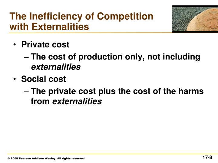 Private cost