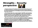 strengths security perspective