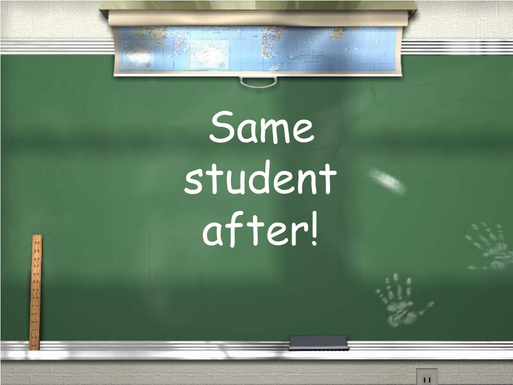 Same student