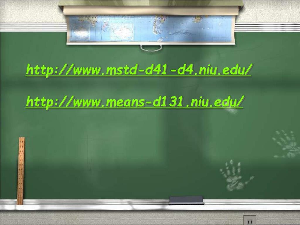 http://www.mstd-d41-d4.niu.edu/