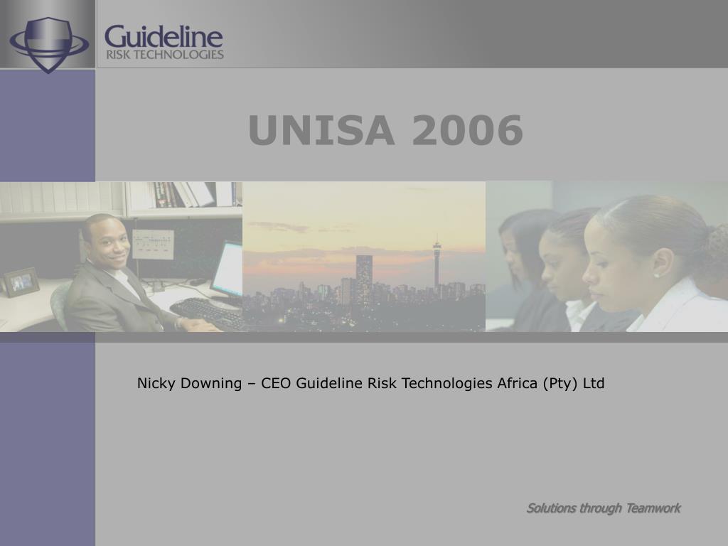 UNISA 2006