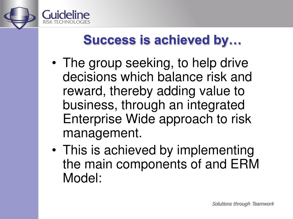 Success is achieved by…