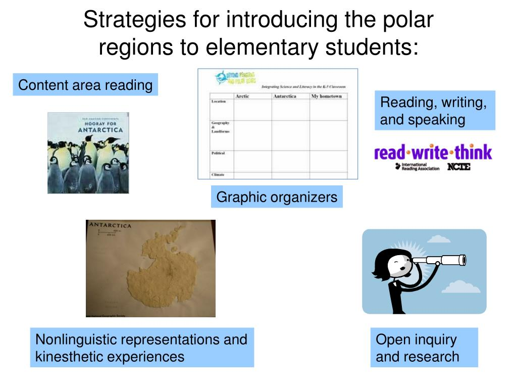 Strategies for introducing the polar regions to elementary students: