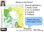 where is the arctic